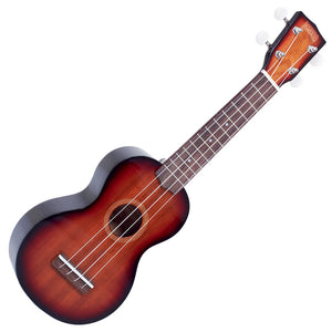Mahalo Ukuleles Java Series Soprano Ukulele 3 Tone Transparent Sunburst Gloss MJ1-3TS - The Guitar World