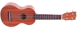 Mahalo Ukuleles M1 Java Soprano Ukulele Transparent Wood MJ1-TBR - The Guitar World