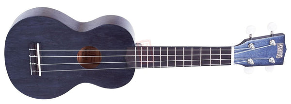 Mahalo Ukuleles Kahiko Plus Series Soprano Ukulele Transparent Black MK1P-TBK - The Guitar World