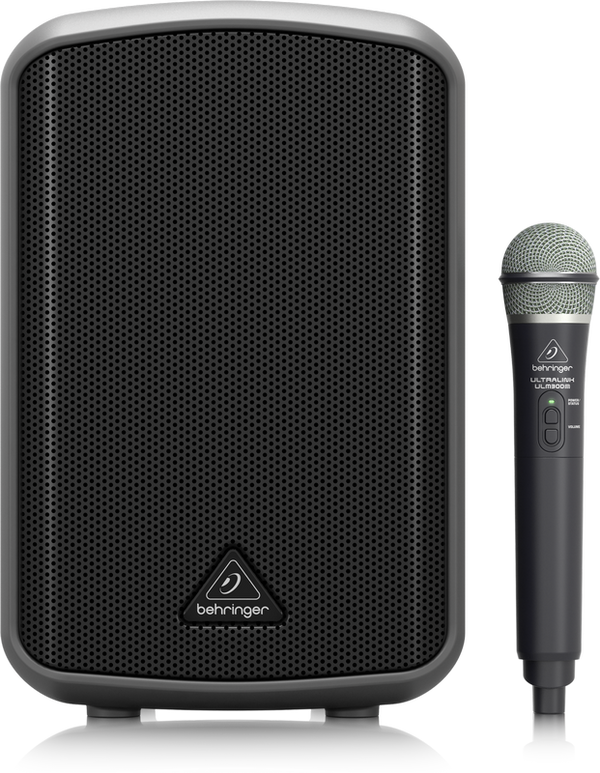 BEHRINGER EUROPORT MPA100BT All-in-One Portable 100-Watt Speaker with Wireless Microphone, Bluetooth Connectivity and Battery Operation - The Guitar World