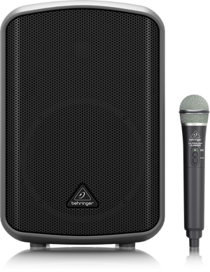 BEHRINGER EUROPORT MPA200BT All-in-One Portable 200-Watt Speaker with Wireless Microphone, Remote Control via Smart Phone, Bluetooth Audio Streaming and Battery Operation - The Guitar World