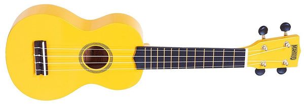 Mahalo Ukuleles Rainbow R Series Soprano Ukulele Yellow MR1-YW