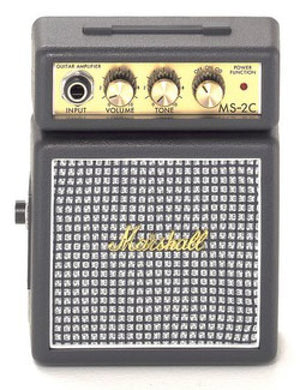 Marshall MS-2C Micro Amplifier Classic - The Guitar World