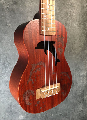 Molakai Soprano Ukulele - Dolphin - The Guitar World