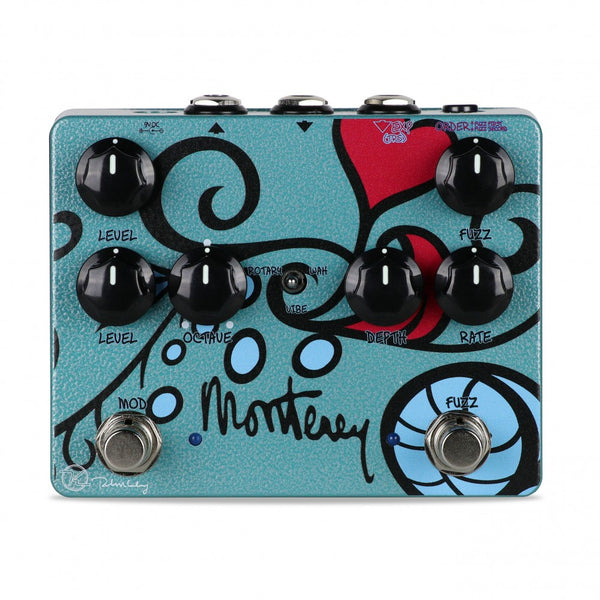 Keeley Monterey Rotary Fuzz Vibe Pedal KMONT - The Guitar World