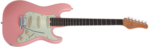 Schecter Traditional Nick Johnston Signature Guitar in Atomic Coral SKU 274