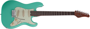 SCHECTER Nick Johnston SIGNATURE GUITAR Traditional Atomic Green SKU 289
