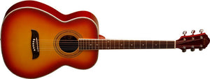 Oscar Schmidt 6 String OF2 Folk Acoustic Guitar. Cherry Sunburst OF2CS-A - The Guitar World