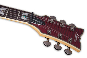 Schecter S-II Omen Extreme in Black Cherry BCH SKU 2031 - The Guitar World