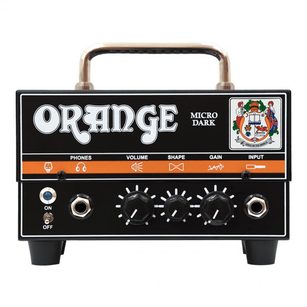 Orange Micro Dark 20 Watt Guitar Head - The Guitar World