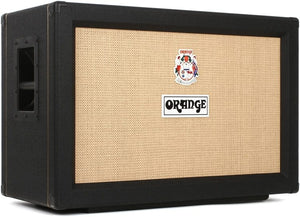 Orange PPC212 - 2X12 Speaker Cabinet - Black - The Guitar World