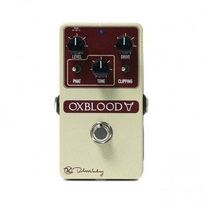 Keeley Ox Blood Overdrive Pedal - The Guitar World