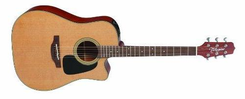Takamine Pro Series 1 Dreadnought Body Acoustic Electric Guitar with Case in Natural Item ID: P1DC