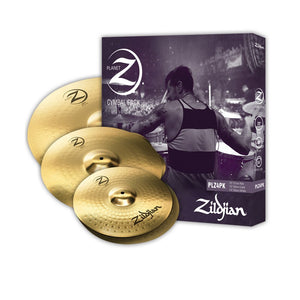 "Zildjian Planet Z 4 Cymbal Set (14"" pr, 16"", 20"")  PLZ4PK - The Guitar World"