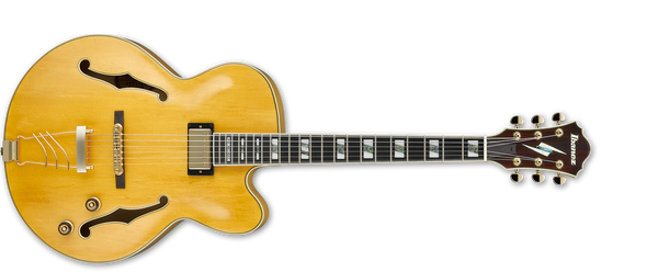 Ibanez Pat Metheny Signature Hollowbody Guitar IN Antique Amber PM2-AA - The Guitar World