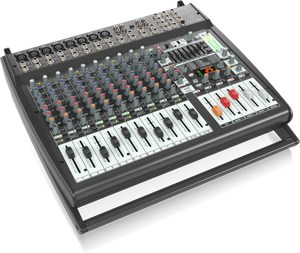 BEHRINGER EUROPOWER PMP4000 1600-Watt 16-Channel Powered Mixer with Multi-FX Processor and FBQ Feedback Detection System - The Guitar World