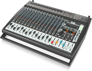 Behringer PMP6000 1600-Watt 20-Channel Powered Mixer with Dual Multi-FX Processor and FBQ Feedback Detection System - The Guitar World