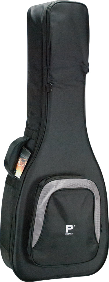 Profile Deluxe Acoustic Guitar Bag with Extra Storage PRDB-DLX