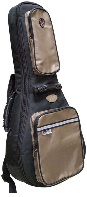Profile Mandolin Bag Black With Khaki Accents PRMB906 - The Guitar World