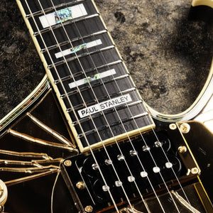Ibanez Paul Stanley Signature Series GOLD Cracked Mirror PS4CM - The Guitar World