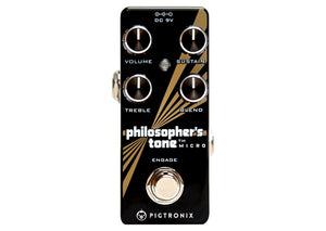 Pigtronix PHILOSOPHER TONE MICRO PTM - The Guitar World