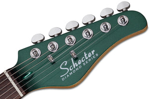 Schecter Retro Series PT Fastback IIB Electric Guitar Bigsby Dark Emerald Green 2210-SHC - The Guitar World