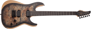 Schecter Reaper-6 Satin Charcoal Burst SCB Sku 1500 - The Guitar World