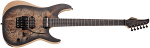 SCHECTER Reaper-6 FR S Satin Charcoal Burst SKU 1506 - The Guitar World