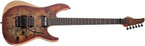 SCHECTER Reaper-6 FR S Satin Inferno Burst SIB SKU 1508 - The Guitar World