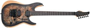 SCHECTER Reaper-6 FR Satin Charcoal Burst SCB SKU 1503 - The Guitar World