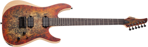 SCHECTER Reaper-6 Satin Inferno Burst SIB SKU 1502 - The Guitar World