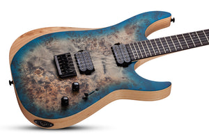 SCHECTER Reaper-6 Satin Sky Burst SSKYB SKU 1501 - The Guitar World