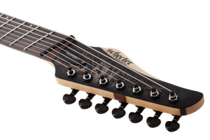 SCHECTER Reaper-7 STRING Multiscale Satin Charcoal Burst SKU 1509
