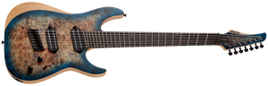 SCHECTER Reaper-7 STRING Multiscale Satin Sky Burst SKU 1510 - The Guitar World