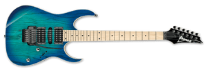 Ibanez RG Electric Guitar IN Blue Moon Burst RG370AHMZ-BMT - The Guitar World