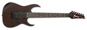 Ibanez RG 7-String Electric Guitar IN Walnut Flat RG7421-WNF - The Guitar World