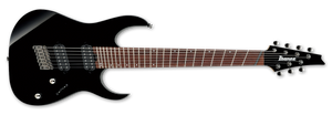 Ibanez RG Multi Scale 7-String Electric Guitar in Gloss Black RGMS7-BK - The Guitar World