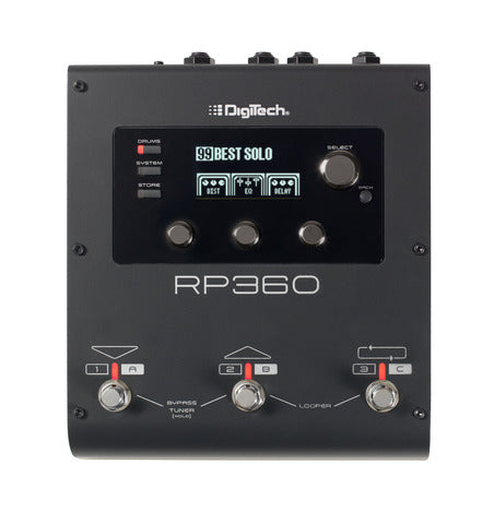Digitech RP360 Guitar Multi-Effect Floor Processor with USB Streaming
