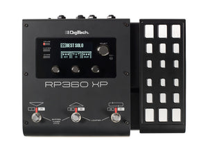 Digitech RP360 XP Guitar Multi-Effect Floor Processor with USB Streaming and Expression Pedal - The Guitar World