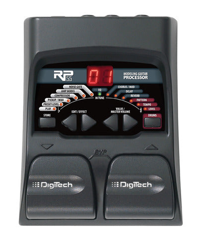 Digitech RP55 Guitar Multi-Effects - The Guitar World