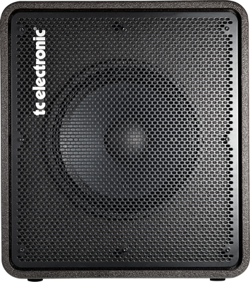 TC ELECTRONIC RS115 400 Watt 1 x 15 Bass Cabinet with Superior Tone and Portable Design