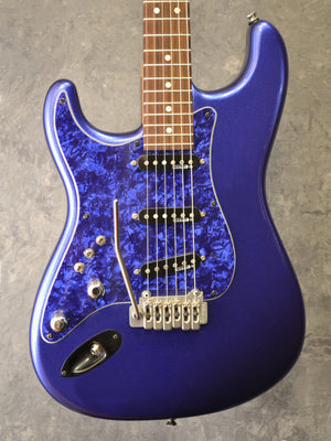 Custom Built Strat Modded with Aftermarket PARTS Left Handed 2012 Midnight Blue - The Guitar World