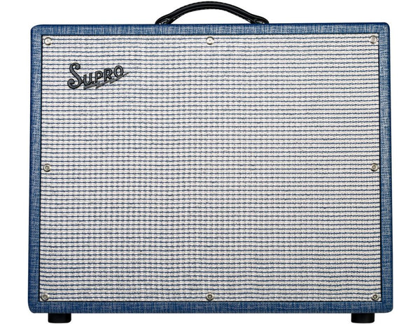 Supro Thunderbolt 35/60 Watts 1x15 Amplifier S6422