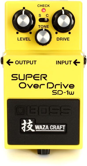 Boss SD-1W Super Overdrive Waza Craft Pedal - The Guitar World