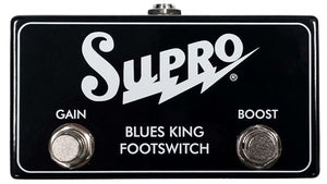 Supro Blues King Footswitch Gain and Boost Footswitch SF4