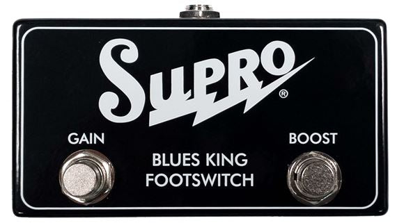 Supro Blues King Footswitch Gain and Boost Footswitch SF4 - The Guitar World