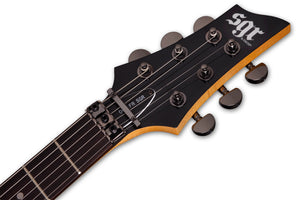 Schecter 006 FR SGR by Schecter in Gloss Black BLK SKU 3838 - The Guitar World