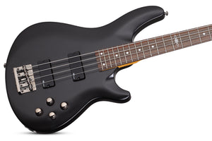 Schecter C-4 SGR by Schecter in Midnight Satin Black MSBK SKU 3818
