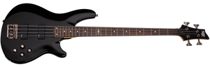 Schecter C-4 SGR by Schecter in Gloss Black BLK SKU 3815 - The Guitar World