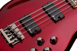 Schecter C-4 SGR by Schecter in Metallic Red SKU 3817